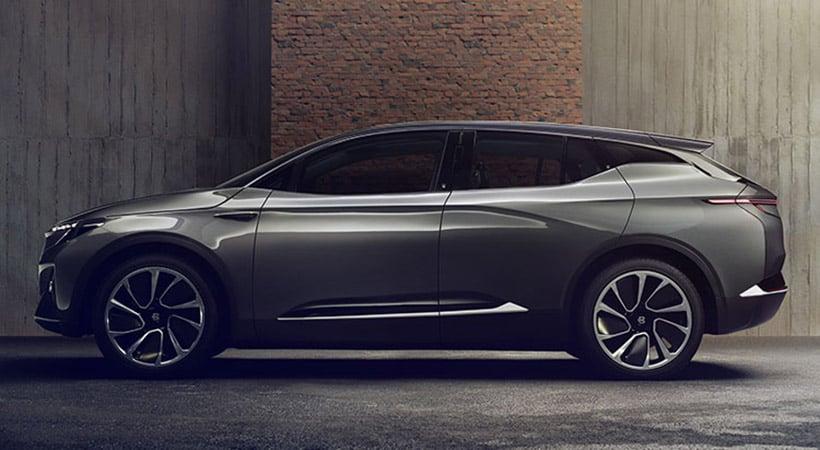 Byton Concept, CES 2018, vehículos autónomos, SUV eléctrico
