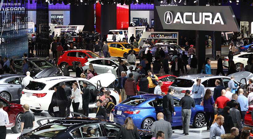 Récord de asistencia al Auto Show Detroit 2018