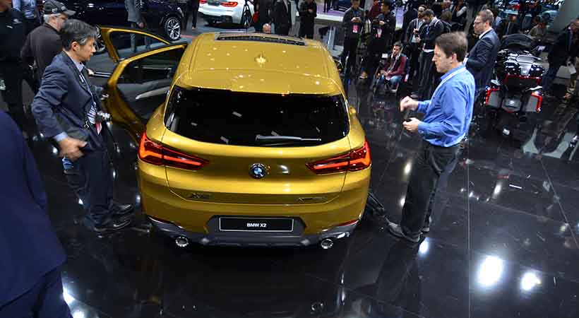 BMW X2 2019, BMW X2 2019 precio, BMW X2 2019 video, Auto Show de Detroit 2018
