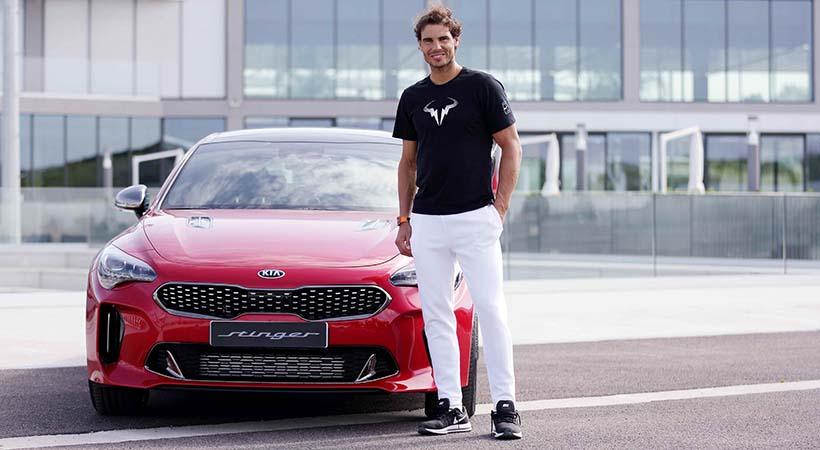 Test Drive Kia Stinger 2018 con Rafa Nadal