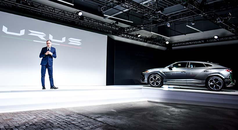 Debut Lamborghini Urus 2019