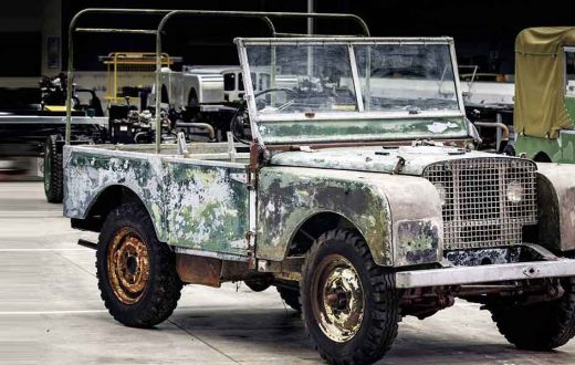 Land Rover Series 1, Aniversario Land Rover