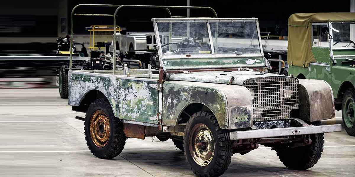 Land Rover Series 1, Aniversario Land Rover