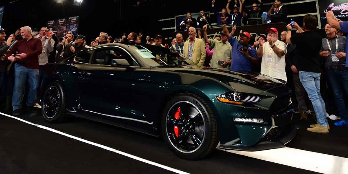 Primer Mustang Bullitt, subasta Mustang Bullit,