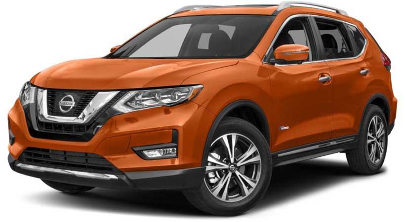 Top 5 mejores SUV compactos 2017, Nissan Rogue, Subaru Crosstek, Mazda CX-5, Chevrolet Equinox, Jaguar E-Pace