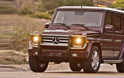 Mercedes-Benz G 550 2018, elegancia atemporal