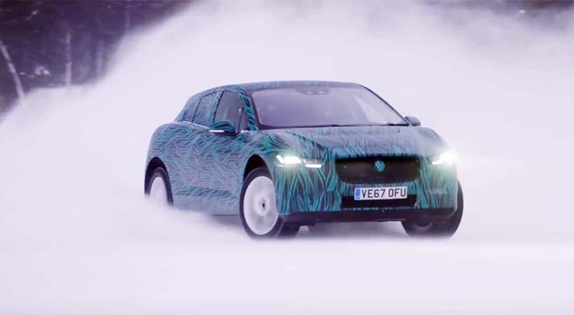 Test Drive Jaguar I-Pace 100% eléctrico en el frío extremo