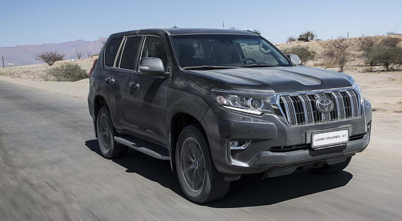 Test Drive Toyota Land Cruiser 2018