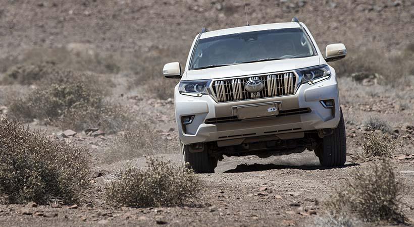Test Drive Toyota Land Cruiser 2018
