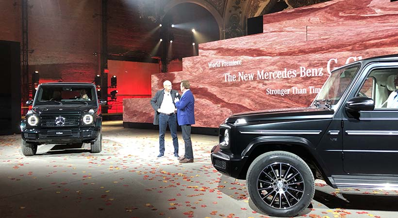 Debut Mercedes-Benz G Class 2019 en el Auto Show Detroit