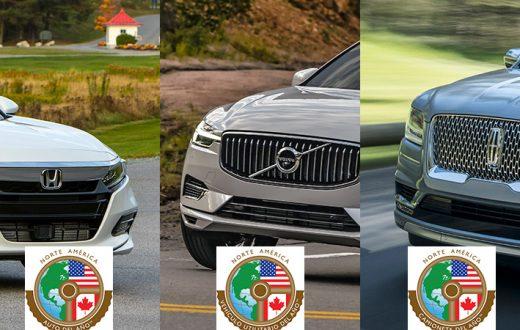 Ganadores NACTOY 2018; Auto, Camioneta y Vehículo Utilitario del Año