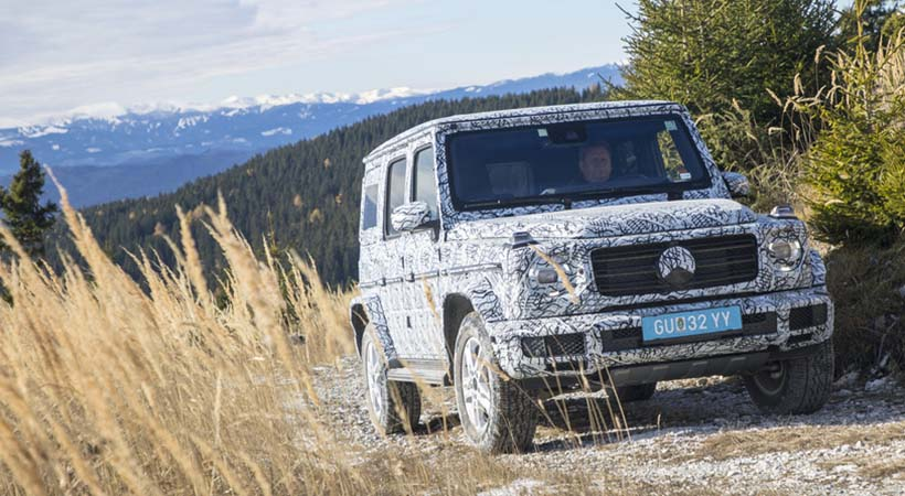 Primeras fotos Mercedes-Benz G Wagon 2019
