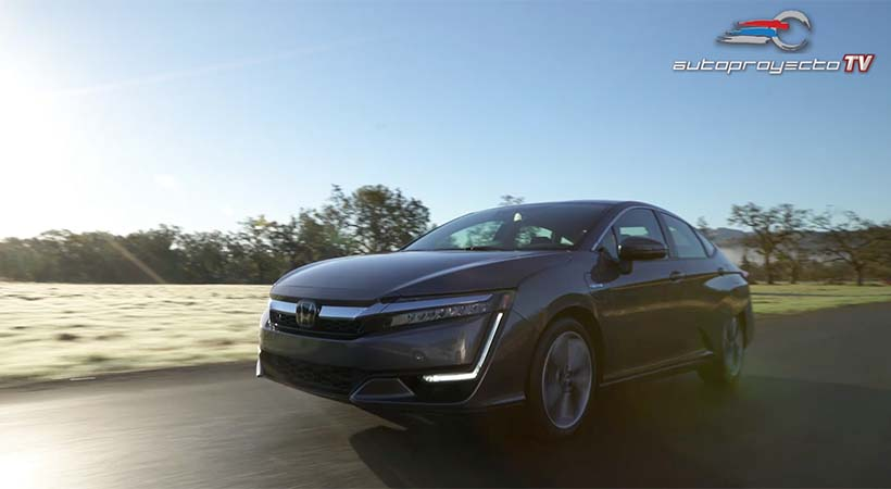 Video Honda Clarity Plug-In Hybrid 2018