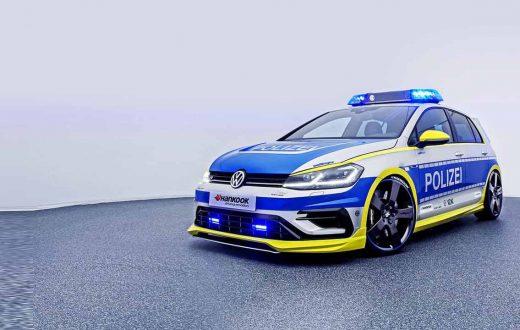 Polizei Golf, el lado tuning de la ley en Alemania