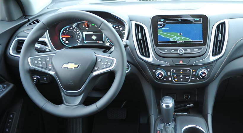 Test Drive Chevrolet Equinox Premier 2018
