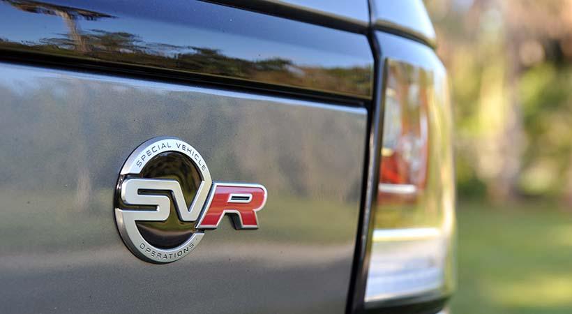 Test Drive Range Rover Sport SVR 2018