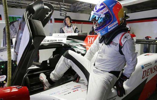 Fernando Alonso enamorado de los híbridos Toyota
