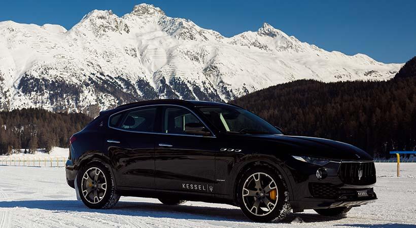 Maserati Levante Q4 rompió récord Guinness