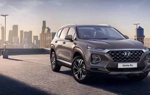 Hyundai Santa Fe 2019, anticipo al debut en el Auto Show Ginebra