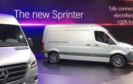 Debut mundial Mercedes-Benz Sprinter 2019