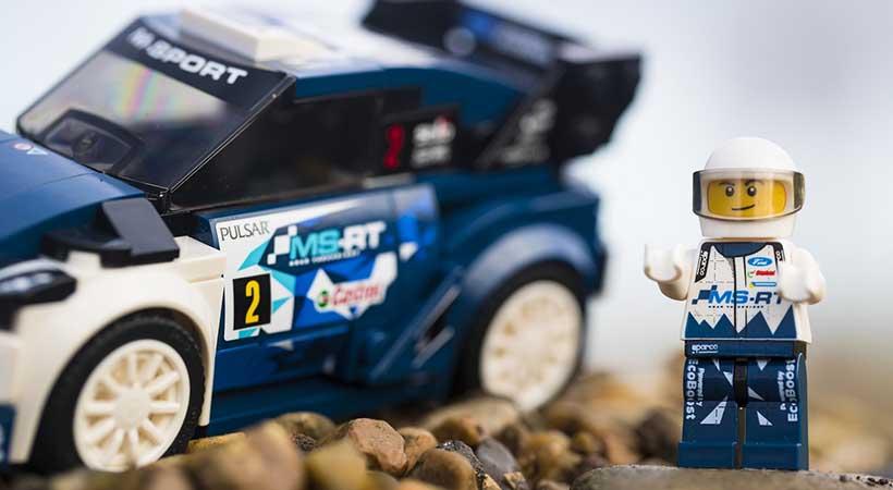 Ford Fiesta WRC M-Sport de Lego Speed Champions