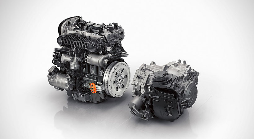 motores de combustión interna Volvo