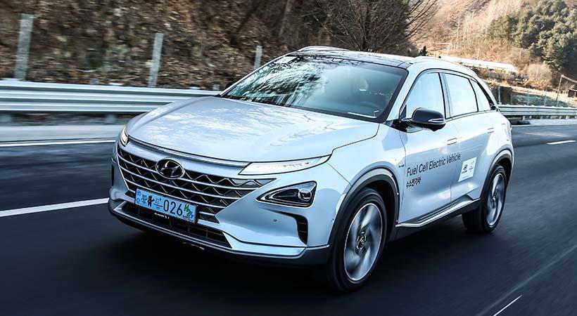 Primer vistazo Hyundai NEXO