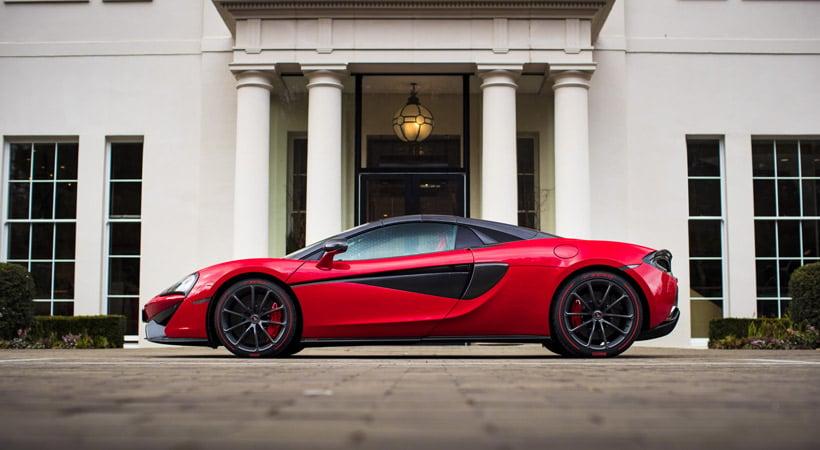 McLaren 570S Spider: Mejores autos para salir con tu pareja