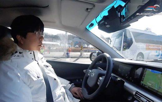 Test Ride Hyundai NEXO Autonomous Drive