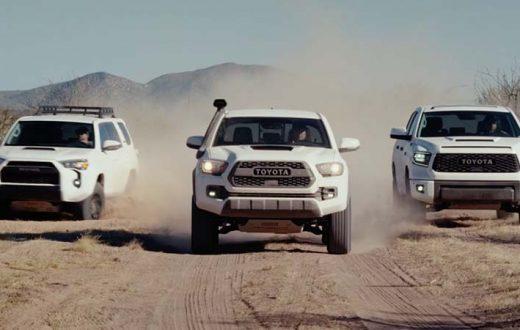 Triple debut Toyota TRD Pro 2019