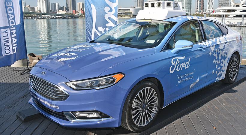 Solución Ford a los malos conductores de Miami ... eliminarlos!