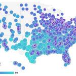 Dónde vives, cuánto pagas