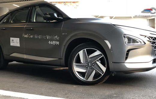 Hyundai NEXO Fuel Cell y Hyundai Santa Fe 2019