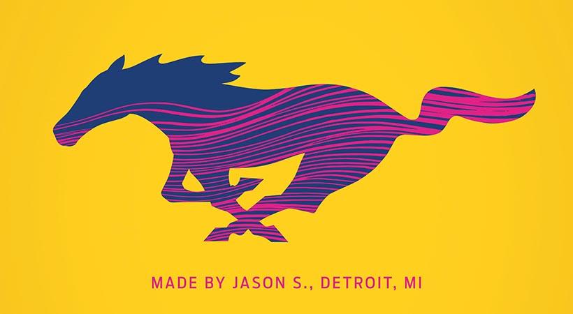 Ford Mustang te invita a crear tu propio emblema personalizado