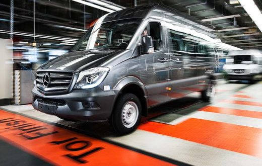 Top 10 números Mercedes-Benz Sprinter
