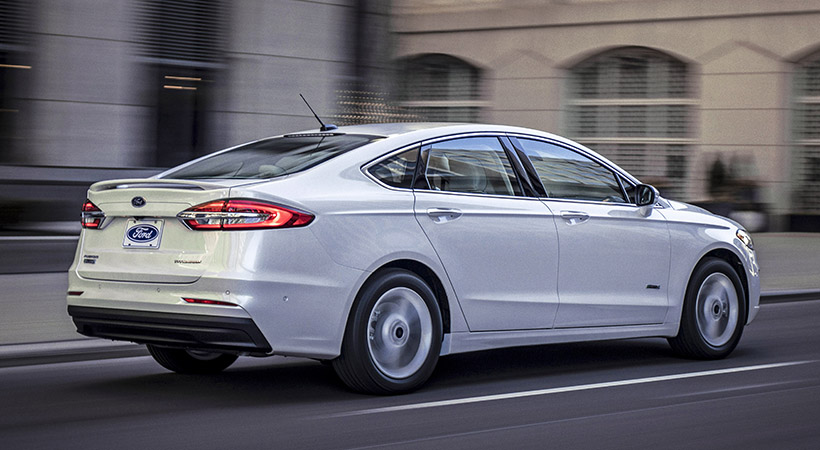 Ford Fusion 2019 con Co-Pilot360 Driver-Assist