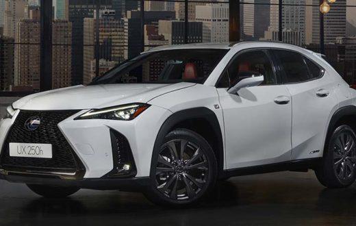 Debut Lexus UX