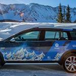 Volkswagen acelera en la nieve