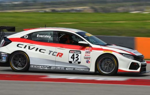 Honda Civic Type R al Pirelli World Challenge 2018