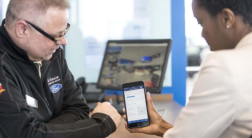Conectividad Wi-Fi Ford