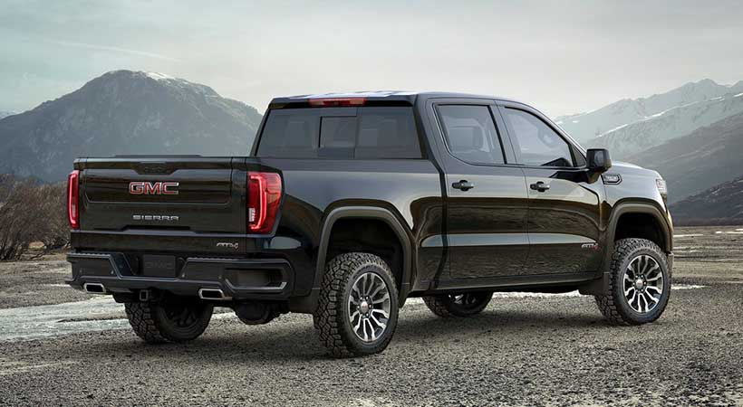 GMC Sierra AT4 debut off-road en Nueva York