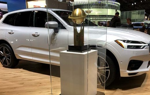 Volvo XC60 World Car of the Year 2018, celebración en New York