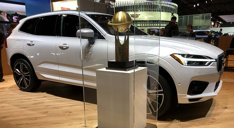 Volvo XC60 World Car of the Year 2018, celebración en New York