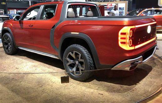 Volkswagen Atlas Tanoak Pickup Truck Concept