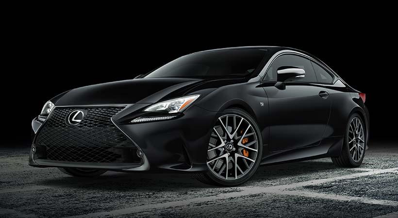 Lexus RC F SPORT Black Line Special Edition