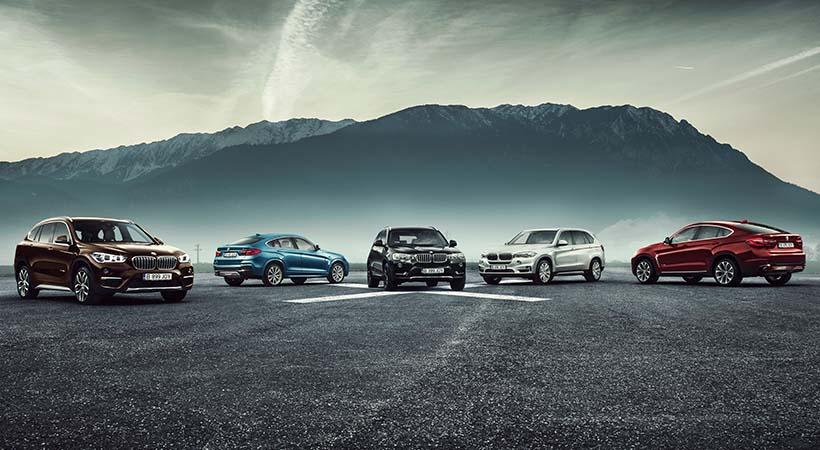 Familia BMW X