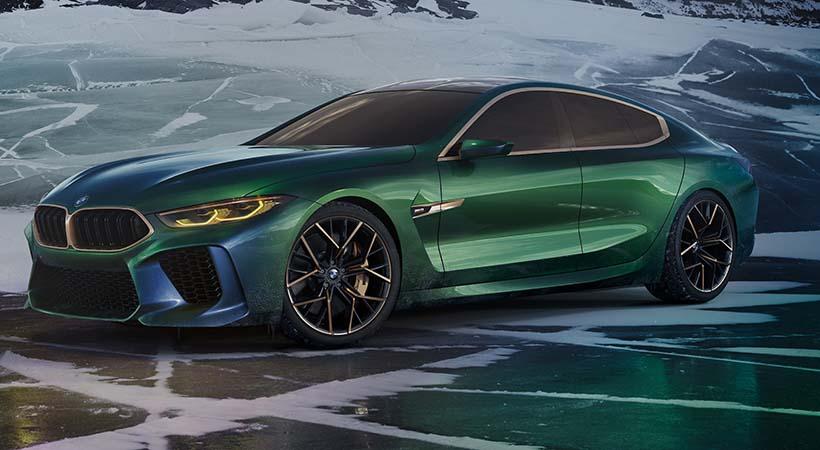 BMW M8 Gran Coupé Concept, debut en el Auto Show Ginebra