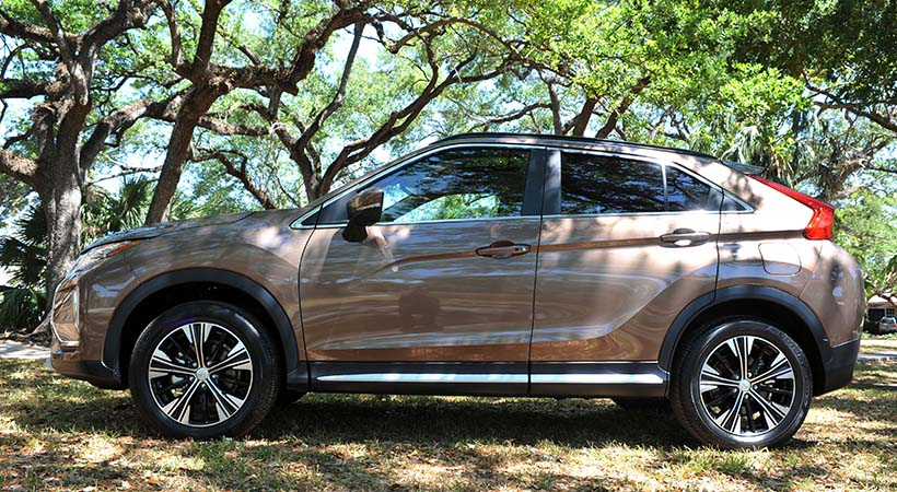 Test Drive Mitsubishi Eclipse Cross 2018