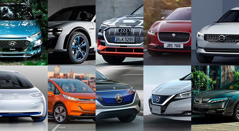 Top 10 autos eléctricos que son la peor amenaza para Tesla