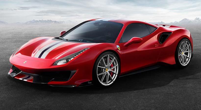 Debut Ferrari 488 Pista
